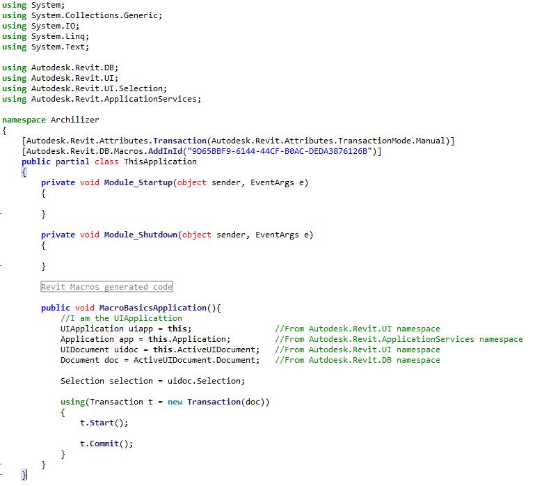 04_application macro organisation
